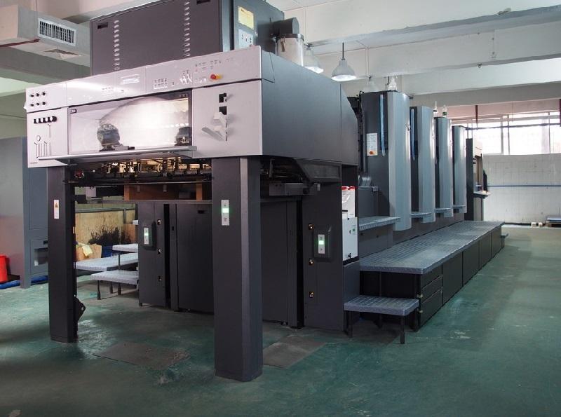 明辉彩印海德堡印刷机