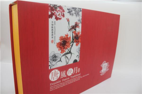 唐风映月系列中秋月饼盒定制选明辉彩印
