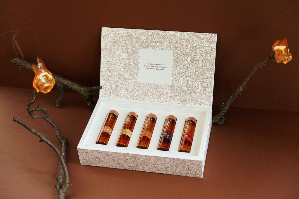 【创新包装】华丽的烈酒礼盒包装设计
